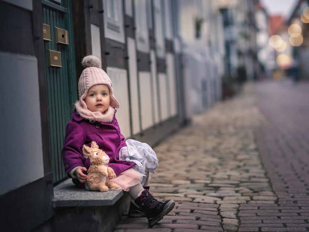 kinderbilder kinderfotoshooting kinderfotografie hameln innenstadt