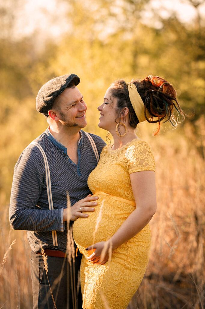 Babybauch Bilder mit Partner