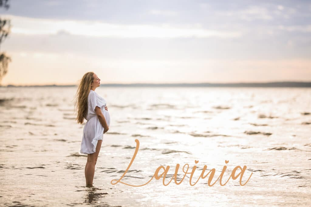 Babybauch Fotoshooting Steinhuder Meer