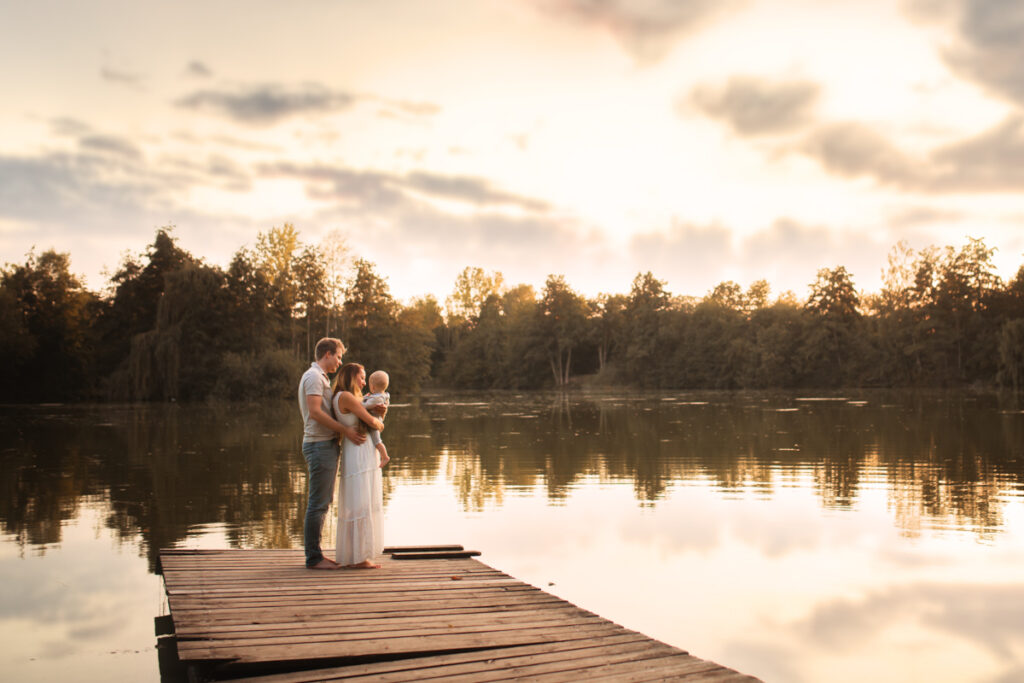 sommerliches Familien- Fotoshooting